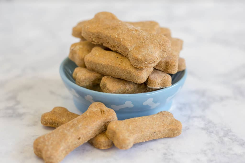 Homemade Dog Biscuits Artzy Foodie